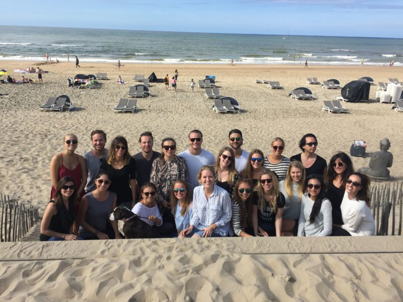 The Pulse crew soaks up some sun on our last day in the Netherlands, Sept. 11.